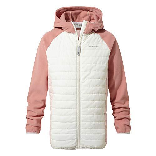 Craghoppers Kinder Girls Neopolitan Jacke, Seasalt/Seashell Pink, 13 yr