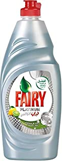 Fairy Platinum Lemon and Lime Dish Washing Liquid Soap - 625ml