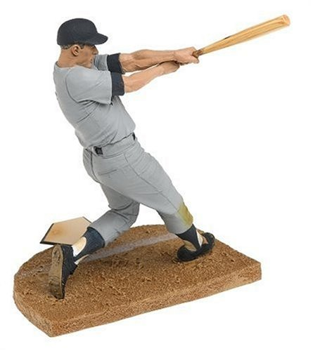 T M P Intl Cooperstown Series 3 Mickey Mantle: NY Yankees Gray Jersey and Blue Hat