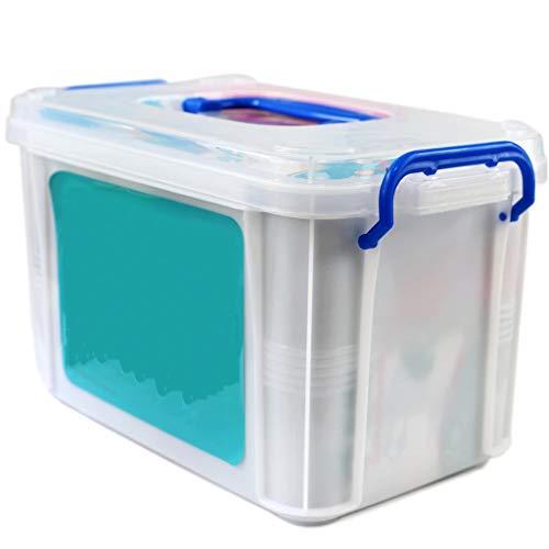 Leileixiao Kit de primeros auxilios Caja de medicina portátil Caja de almacenamiento de medicamentos de múltiples capas para el hogar (color: sección A)