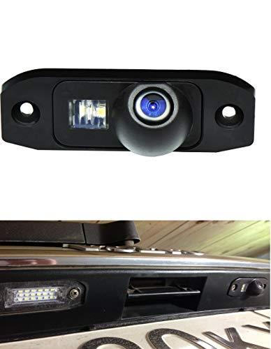 Rueckfahrkamera-wasserdicht-Nachtsicht-Auto-Rueckansicht-Kamera-Einparkhilfe-Rueckfahrsystem-Kennzeichenleuchte-Schwarz-fuer-S60-S80-V70-XC90-XC60-T4-T5