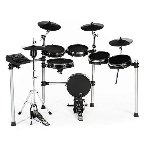 Fame DD-ONE Pro XT E-Drum Set (Elektronisches Schlagzeugset - LCD Display, echte HiHat, 554 Sounds mit Recording)