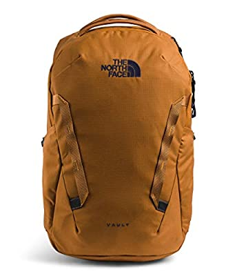 The North Face Vault Backpack, Timber Tan/TNF Navy, One Size