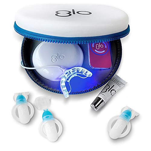 GLO Brilliant Deluxe Teeth Whitening Device Kit