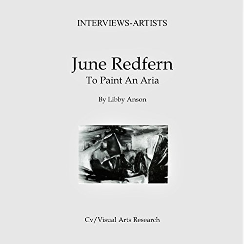June Redfern: To Paint an Aria audiobook cover art