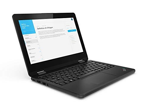 Lenovo ThinkPad 11e Yoga Hybrid (2-in-1) 29,5 cm (11.6 Zoll) 1366 x 768 Pixel Touchscreen Intel® Core™ M 4 GB LPDDR3-SDRAM 128 GB SSD Wi-Fi 5 (802.11ac) Windows 10 Home Schwarz