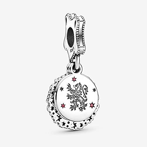 Pandora 925 Royal Sterling Silver Swing Beads Charm Fit Original Pulsera S Regalo de joyería de plata