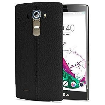LG G4 GSM Unlocked 32GB Mobile Phone  Leather Black  - International Version No Warranty