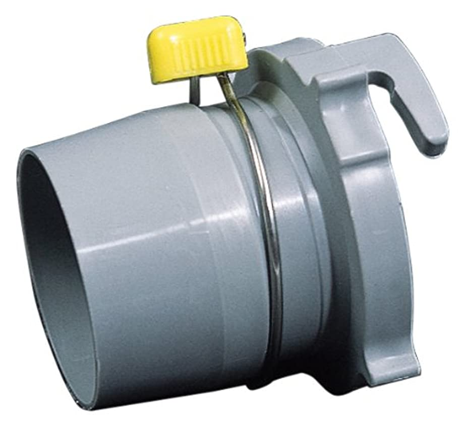 Camco Easy Slip Straight Hose Adapter with Slip-Lock Rings - Securely Connects Your Sewer Hose to RV and Stores with Sewer in Standard 4