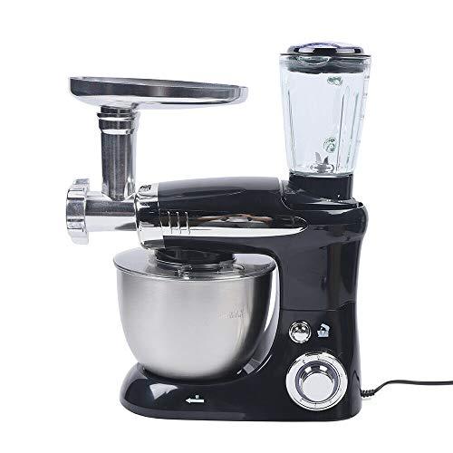 Robot de cocina 3 en 1 de 1000 W, amasadora eléctrica, incluye...