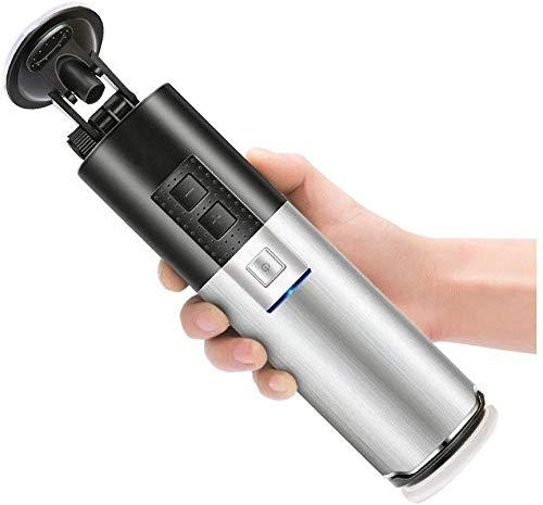 Fondlove 電動オナホール 全自動高速ピストン 380回往復運動/分 10種階段 強力吸盤 3D膣道 USB充電式 アダルトグッズ 男性用