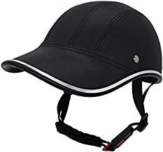 FROFILE Bike Helmet Adults-Cycling-Bicycle Baseball-Helmet - (Black) Adjustable Camping Safe Mountain Bike Helmet for Men Women Teen