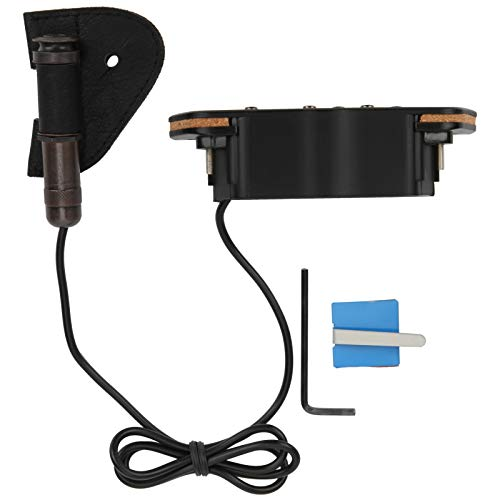 Guitar Pickups, Tuning Guitar Supplies Electro‑Acoustic Equalizer Pickup for Magnetic Preamplifier for Music Enthusiast