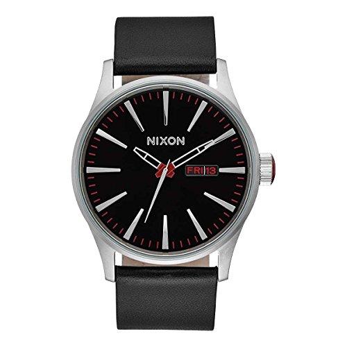 Nixon Reloj Analógico para Hombre de Cuarzo con Correa en Piel A105-000-00