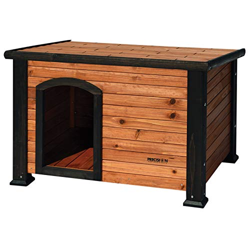 Precision Pet by Petmate Extreme Weather-Resistant Log Cabin Dog House with Adjustable...