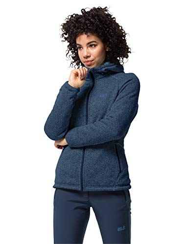 Jack Wolfskin Damen Lakeland Jacket Women Fleecejacke, Dark Indigo, L