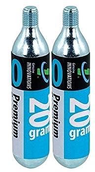 20 Gram Co2 Cartridge Threaded 2 Pack
