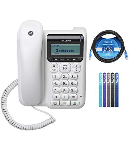 small Motorola CT610 Cordless Phone, Answering Machine and 10-foot Call Ban 1 Gbit / s…