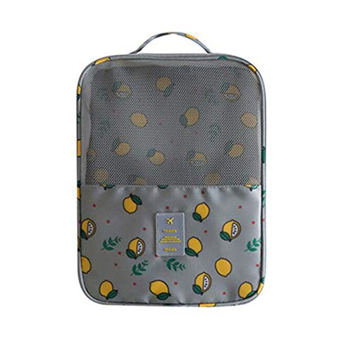 Bolsa de almacenamiento portátil de zapatos de viaje, bolsa organizadora impermeable, para...