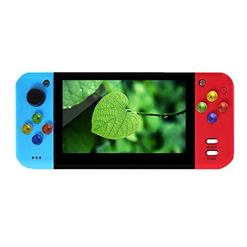 X7 upgrade Handheld Game Console 5.0 inch HDMI Video Game 8G Built-in 200 Handheld Game Console MP4 MP5 Player