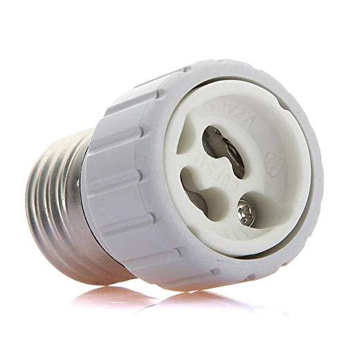 Zay Luay Luces E27 a GU10 LIDERADO Bombillas de luz Bombillas convertidor de Adaptador