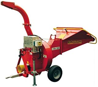 Triturador de fuerza Caravaggi Bio 230 TS NC – Diámetro 12 cm – para tactor de potencia pequeña