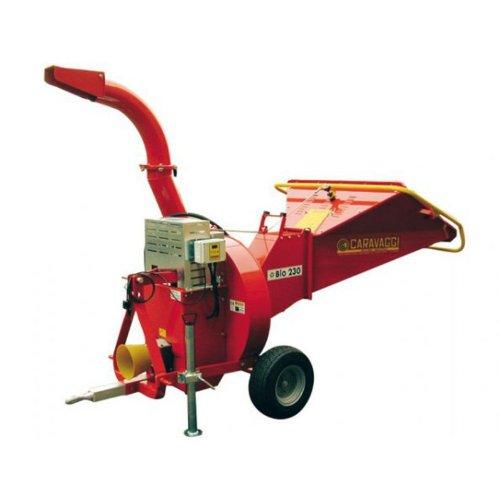 Broyeur sur prise de force CARAVAGGI BIO 230 TS NC - diamètre 12 cm - pour tacteur de petite puissance