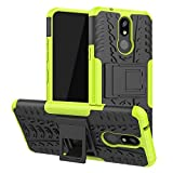 LFDZ LG K40 case, Heavy Duty Tough Armour Rugged Shockproof