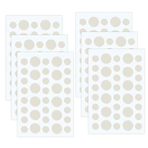 Acne Patch 204 stuks, puistjes, onzichtbaar hydrocolloid puistjes, verwijdert puistjes, concealer patch, anti-acne voor betere make-up