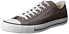 Low-top sneaker with canvas upper Iconic silhouette OrthoLite insole for comfort Diamond outsole tread Unisex Sizing