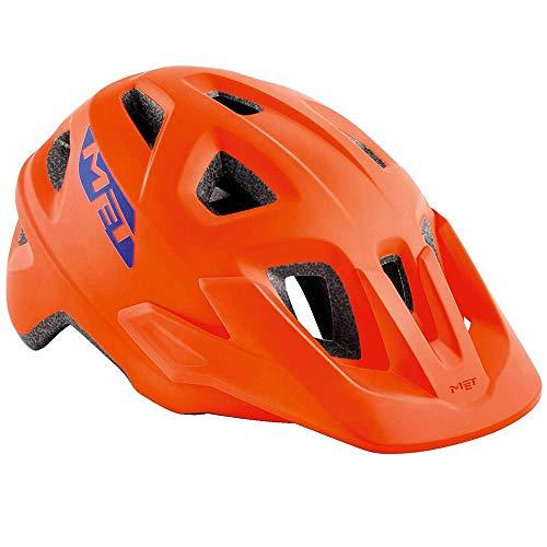Met Elmar Fahrradhelm Orange M(52-57) Unisex Erwachsene
