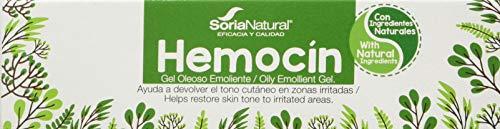 Soria Natural Hemocín Gel Oleoso Emoliente, 40 gr
