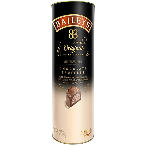 Turin BAILEYS,Original Irish Cream, Non-Alcoholic Chocolate Truffles,