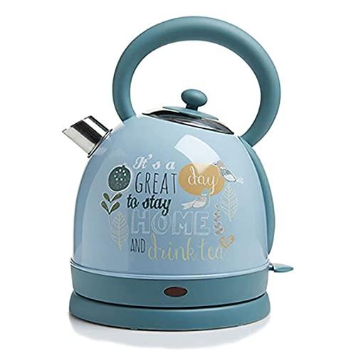 XYG El hervidor eléctrico doméstico de Acero Inoxidable se apaga automáticamente y la protección contra combustión en seco es Adecuada para Preparar café, té, Leche en Polvo para bebés