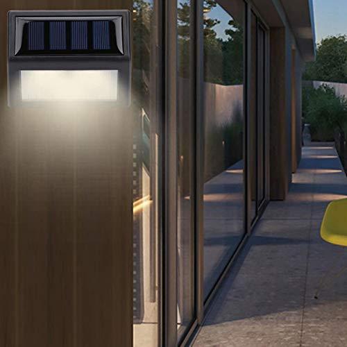 Omabeta Lámpara de Pasillo 6LED Luz de Escalera Impermeable Durable para Patio