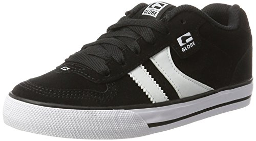 Globe Encore 2, Sneakers, Homme, Noir (Black/White 10046), 44.5 EU/10 UK/11 US