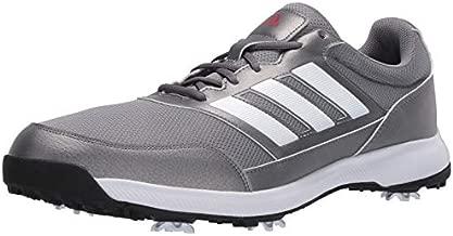 adidas Men's Tech Response 2.0 Golf Shoe, Grey, 9.5 Medium US