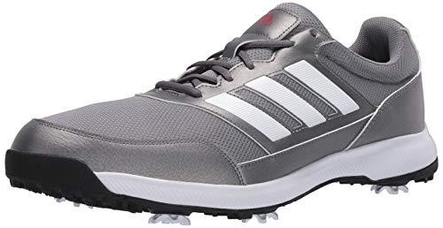 adidas Herren Tech Response 2.0 Golfschuh, (Grau Dreifach/Silber Metallic/Grau Sechs), 49 EU