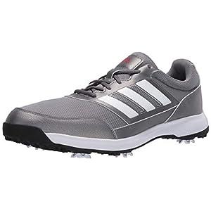adidas Men's Tech Response 2.0 Golf Shoe, Grey, 10.5 Medium US