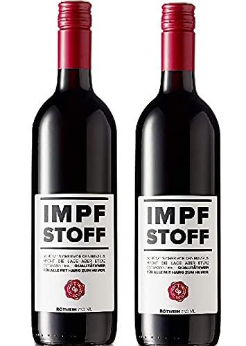 IMPFSTOFF Wein Österreichischer Zweigelt 0,75 Liter Rotwein 12,5% Vol. (2 x 0,75l)