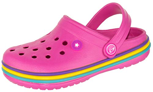 Beppi Pinke Mädchen Clogs - Bade Clogs Girls, Gr. 29