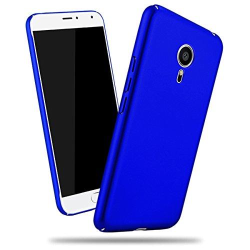 Futypei Meizu Pro 5 Hülle Weiche Silikon Bumper Cover Glitzern Handyhülle Kratzfest Stoßfest Schutzhülle Case Glitter Bling Handytasche Slim Etui Silikon Case Blue
