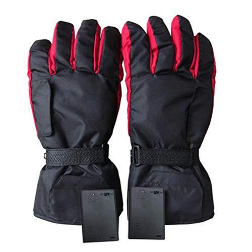 ZXLIFE@@ handschoenen op batterijen. Verwarmde handschoenen met kaartdesign. Snelle verwarming, eenvoudige installatie, 2 uur verwarming.