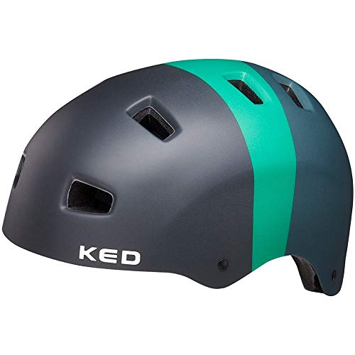KED 5Forty Kopfumfang M 54-58 cm Black Green matt