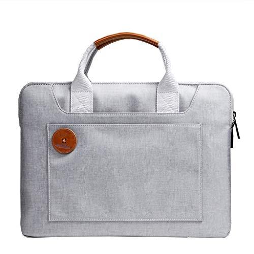 Laptoptas 12/13/14/13,3 inch aktetas voor heren en dames Liner Bag Briefcase