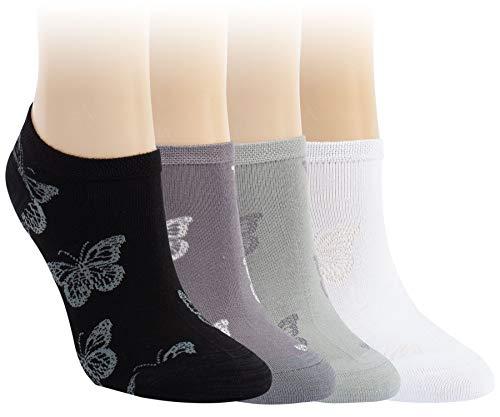 Vitasox 15324 Damen Sneaker Socken Bambus Sneakersocken 6 Paar 35/38