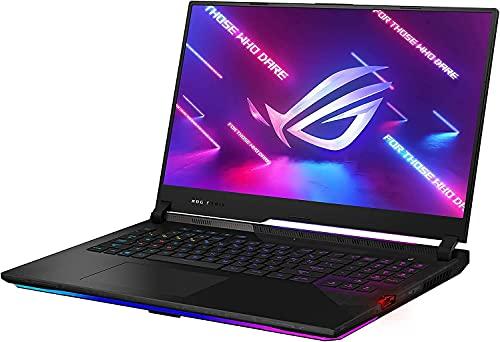 ROG Strix Scar Gaming Notebook (Ryzen 9 5900HX, 64GB RAM, 2x2TB NVMe SSD, NVIDIA GeForce RTX 3080 10GB, 17.3″ FHD 360Hz, Windows 10 Pro) 17 Inch Gamer Laptop