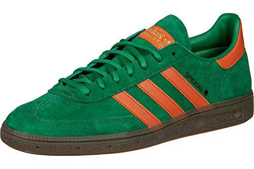 Adidas Schuhe Handball Spezial Bold Green-Raw Amber-Gum 5 (BD7620) 40 2/3 Gruen