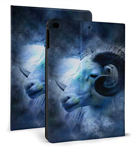 Constellation Astrology Zodiac Aries PU Leather Smart Case Auto Sleep/Wake Feature for iPad Mini 4/5 7.9'& iPad Air 1/2 9.7' Case
