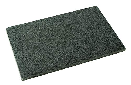 DiConcetto Schneidebrett aus Granit | Steinplatte | Granitplatte (30 x 20 x 1, Granit Padang)